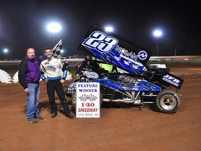 #23 Brian Bell Sprint Feature Winner