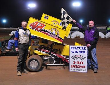 #42 Henry Gustavus, Jr 600 Feature Winner