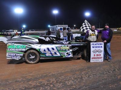#48 Allen Brown IMCA Feature Winner