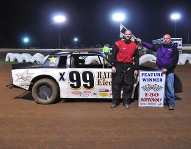 #x99 David Ratliff Super Stock Feature Winner