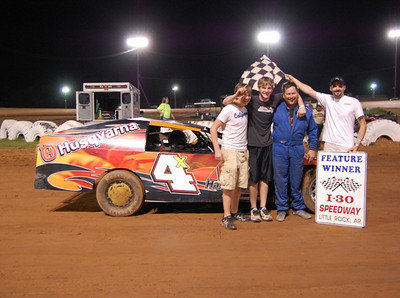 #4x Chuck Sanders IMCA Feature Winner