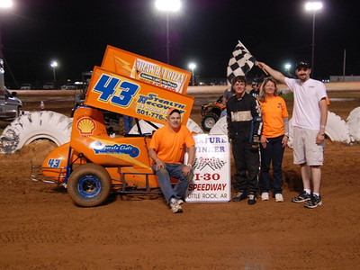 #43 Matthew Bauldwin 600 Feature Winner