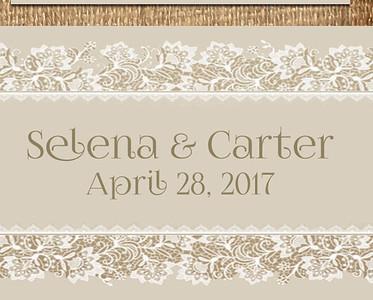 28-04-2017 ~ Selena and Carter Wedding