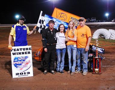 #43 Matthew Bauldwin Mini-Sprint Feature Winner