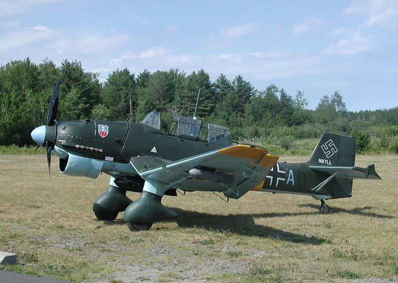 Junkers JU-87 Stuka replica
