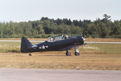 North American AT-6 taxis out