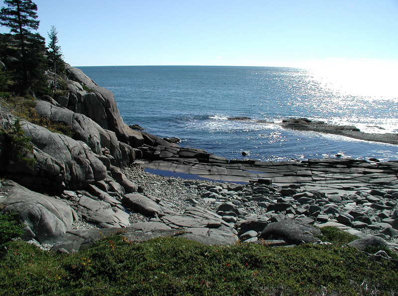 Beach of many features