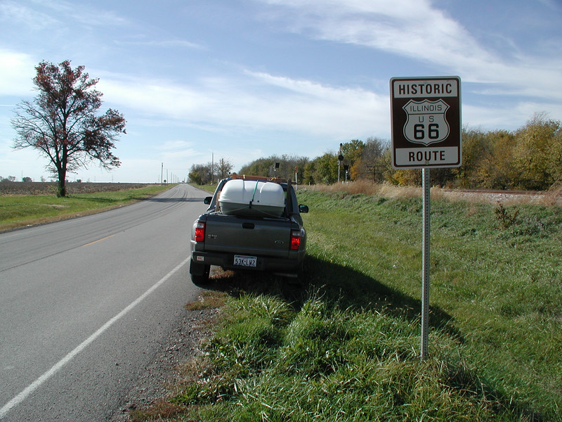 026 On Route 66 - McLean IL