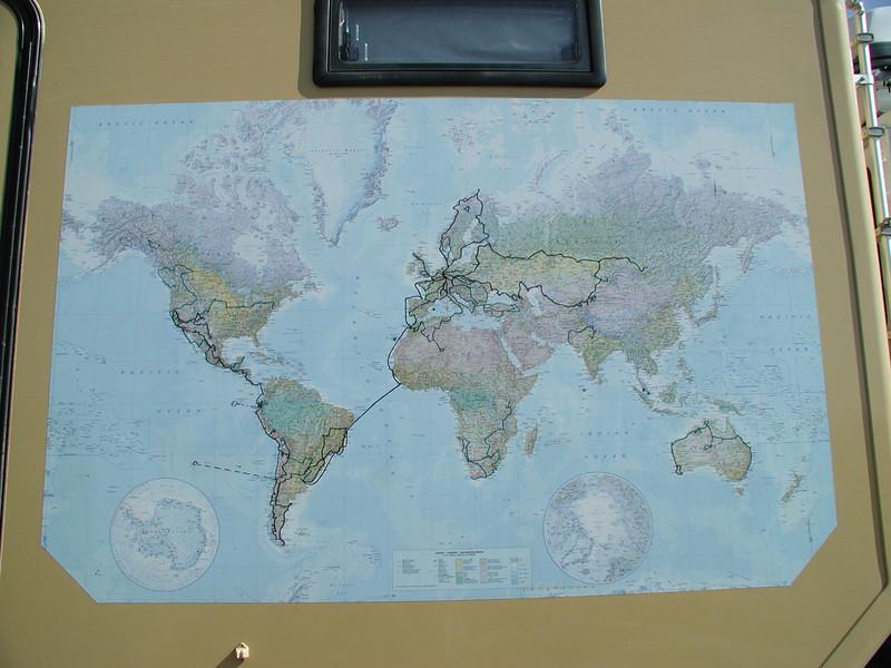 124 Magellan II Route