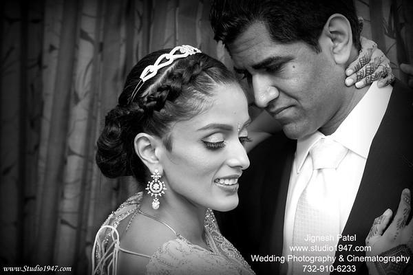 Sheili & Muneesh(Reception)05.04.2013