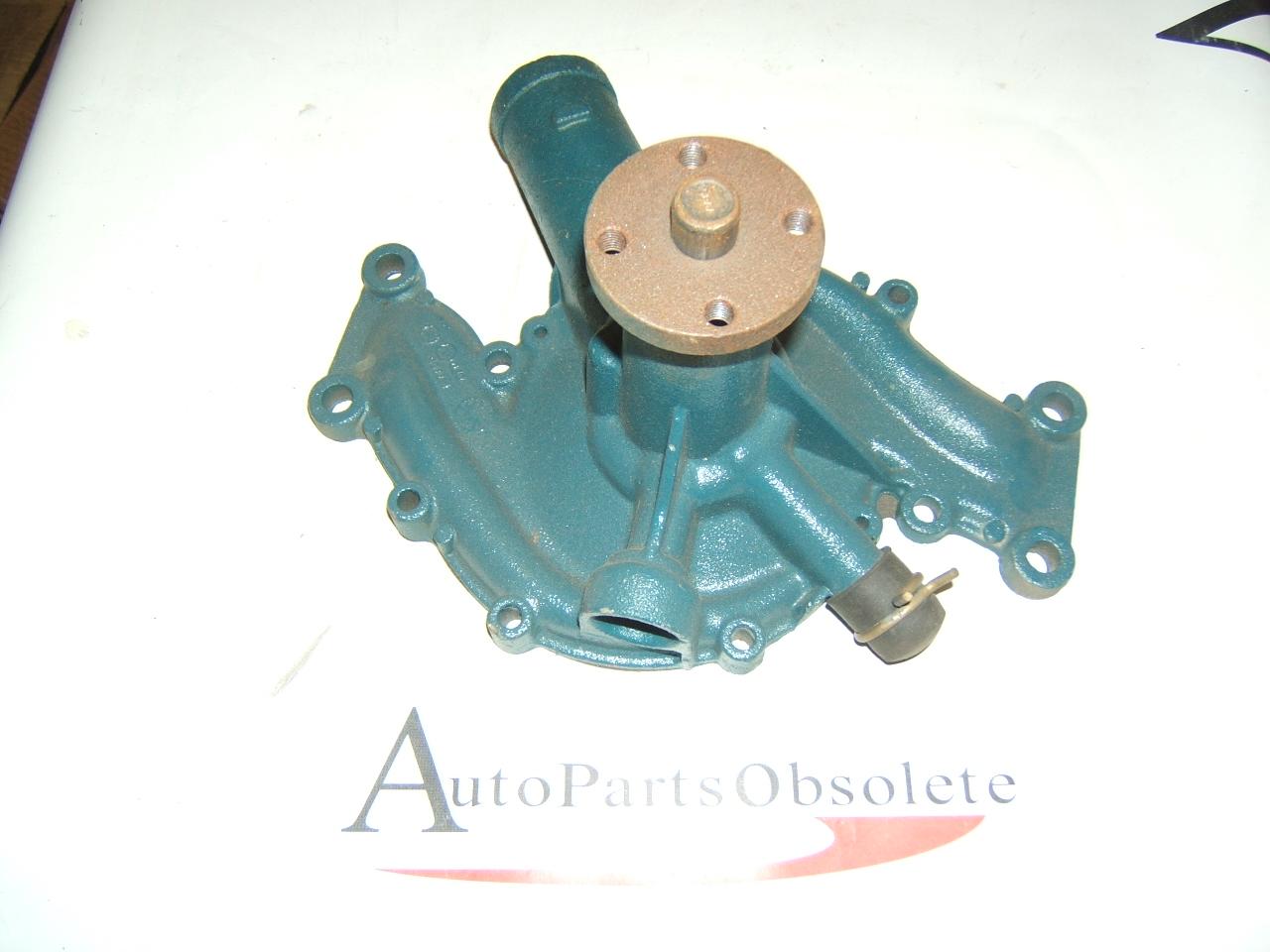 1963 1964 Cadillac rebuilt water pump orig casting 1477589 (A 207 blue chip)