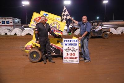 #42 Henry Gustavus,Jr 600 Feature Winner