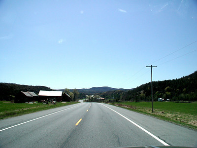 HEADING SOUTH ON HIGHWAY 22