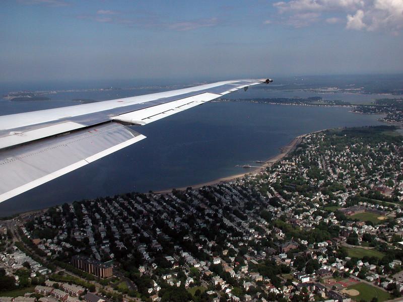 Over Boston