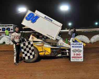 #94 Derek Hagar Sprint Feature Winner
