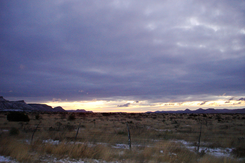 Dawn on the Plains