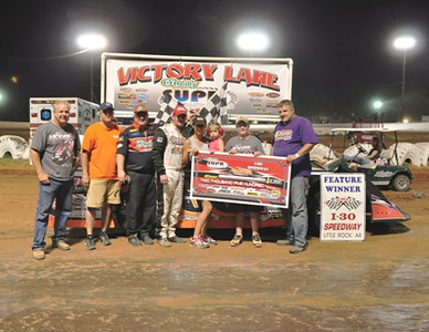 #93 Ray Moore SUPR Late Model Feature Winner