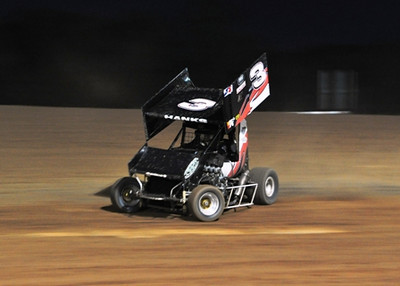 #3 Brandon Hanks 600 Feature Winner Sorry, didn't stop for FW picture.