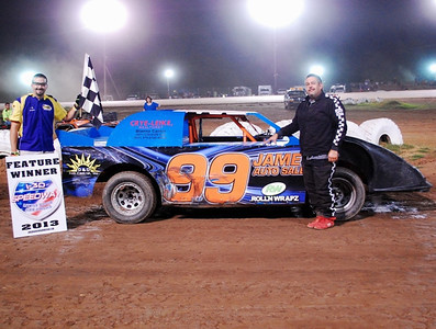 #99 Mike Burr Mini-Stock Feature Winner
