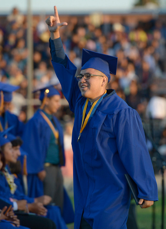 . John H. Francis Polytechnic High School graduation for the class of 2014. Los Angeles, CA. 6/5/2014(Photo by John McCoy Daily News)