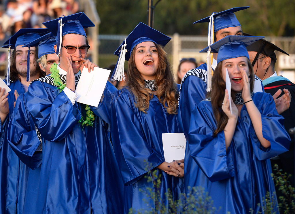 . North Hollywood High School graduation for the class of 2014. Los Angeles, CA. 6/6/2014(Photo by John McCoy Daily News)