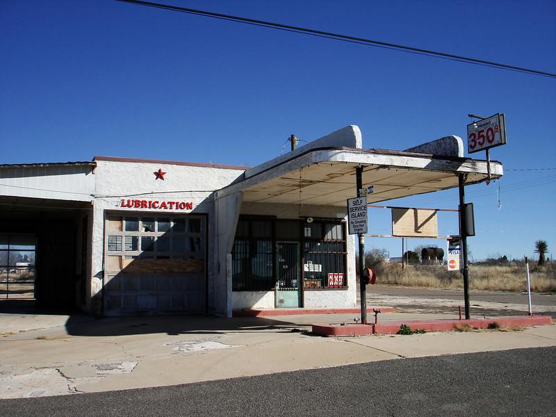 Abandoned Service Station