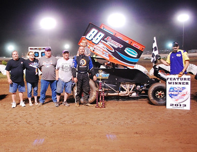 #88 Tim Crawley Sprint Feature Winner