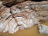 NICE FOLDING<br /> I'm always intrigued with folds in the rock. Amazing. Just think of the processes it took to do that.