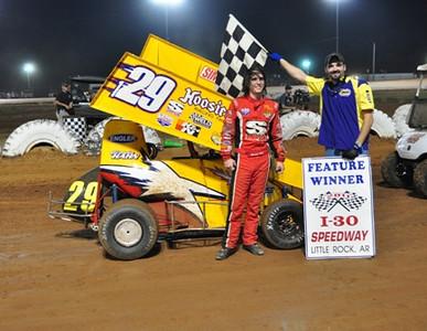 #129 Brandon Hahn 600 Feature Winner