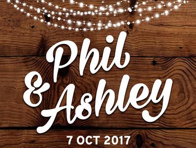 07-10-2017 ~Ashley and Phil Wedding