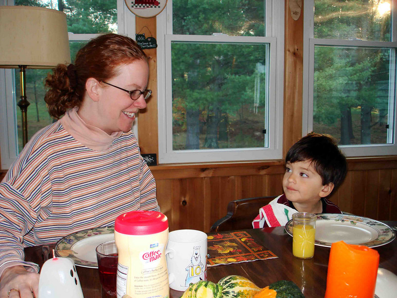 OH, NO YOU DON'T!<br /> Kevin wants something, and Lisa's not buying it. He's only two, but he knows how to use those big brown eyes -- except on Mom.