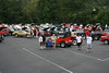Great aerial shot of the crowd.  Thanks to the Timeless Cruizers photographer for climbing up on the trailer!