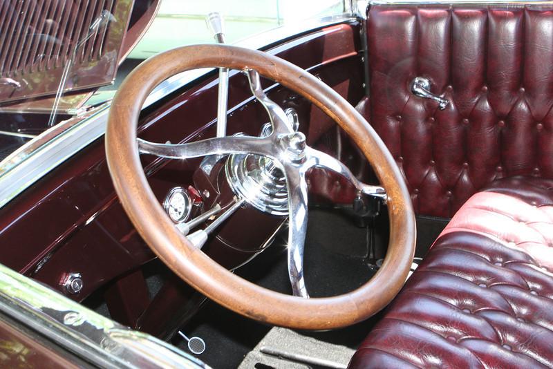 029 Model T interior