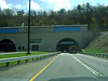 PENNSYLVANIA TUNNEL COMING UP<br /> <br /> One thing about breezing through Pennsylvania I like so much is that there are so very many tunnels. I don't know why that's such a thing with me, but it is, especially since you get to take . . . Anybody? Anybody?