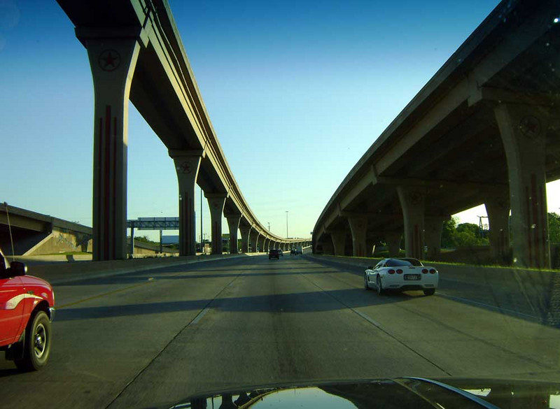 A LITTLE PERSPECTIVE<br /> <br /> And here we are, safely on the other side of Dallas on North Central Expressway. You can see why this is my favorite time to breeze through Dallas.