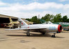 "CAVANAUGH FLIGHT MUSEUM<br /> Mikoyan and Gurevich MiG-17F ""Fresco-C""<br /> <br /> The MiG-17 is a conversion of the MiG-15 which was used extensively in Korea, but the -17 never saw Korean skies and was used in Vietnam, instead. It was every bit as quick and agile as its predecessor, but with a good deal more firepower."