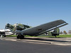 "NATIONAL MUSEUM OF THE USAF<br /> Junkers Ju 52 (CASA 352L)<br /> <br /> Here's Germany's answer to our Douglas C-47 transport -- the Junkers Ju 52. If you roll your cursor onto the photo and select ""Original"" on the pop-out menu, you can see that this plane is primarily made of corrugated metal, something Junkers was famous for. This is yet another Spanish-produced version, the CASA 352L."