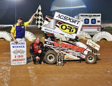 #1 Dusty Young 600 Feature Win