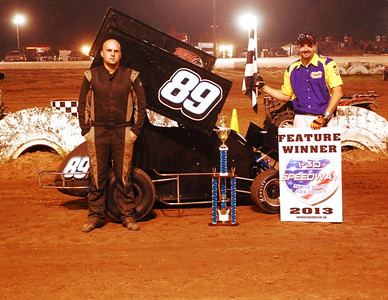 #89 Nick Bailey 600 Feature Winner