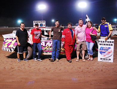 #71 Scooter Scruggs Super Stock Feature Winner