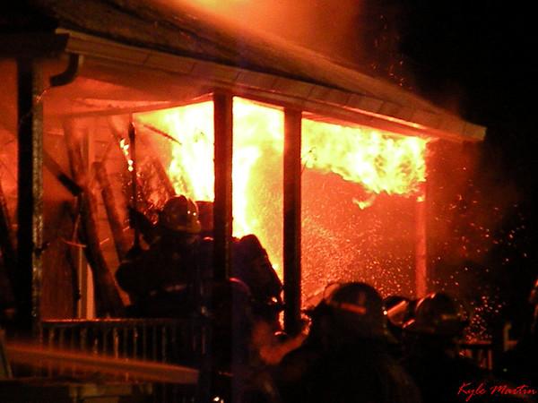 09 121009 MA Bay City -  Stanton House Fire