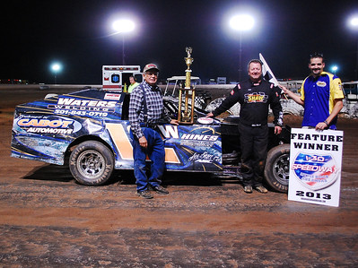 #12w Mike Bowers IMCA Feature Winner