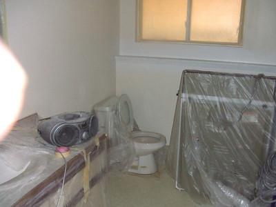 3rd bath + laundry room