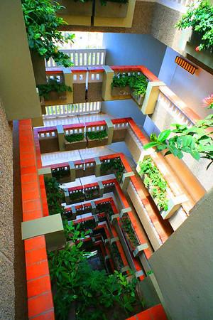 Мексика.Вид с верхнего этажа гостиницы .2007