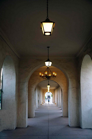 Set ofarches in Balboa Park. 2007 г. San Diego