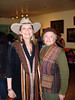 ALEXA AND BETTY<br /> Here's Alexa with Betty Gaddis Yndo, who appears to have adopted Alexa and her work and set up this little soirée to show off both. Thank you so much, Betty!