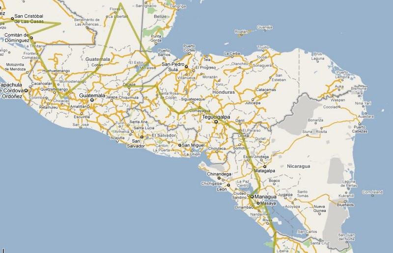 CentalAm_Route