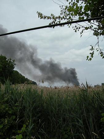 10 062110 Train Bridge Fire MA