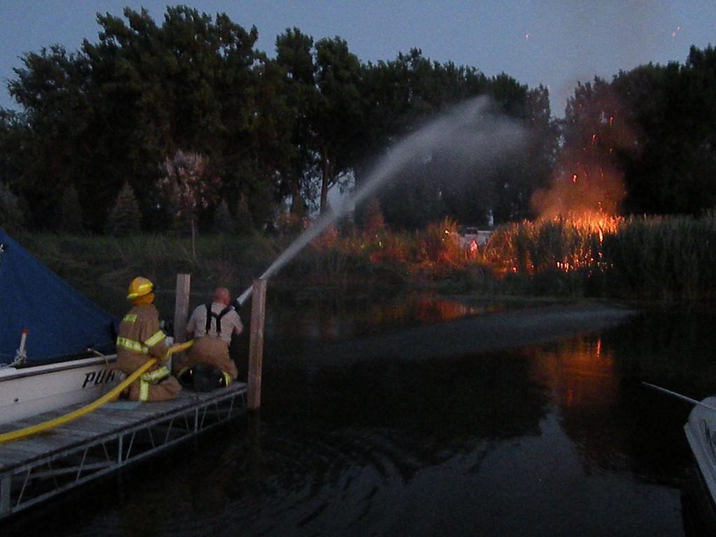 10 071610 Marina Brush Fire