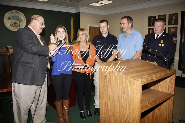10-14-14 Hillsdale Council Meeting Swearing In